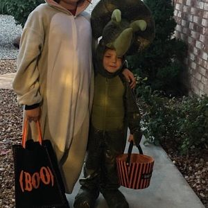 Sz 5t triceratops costume worn once